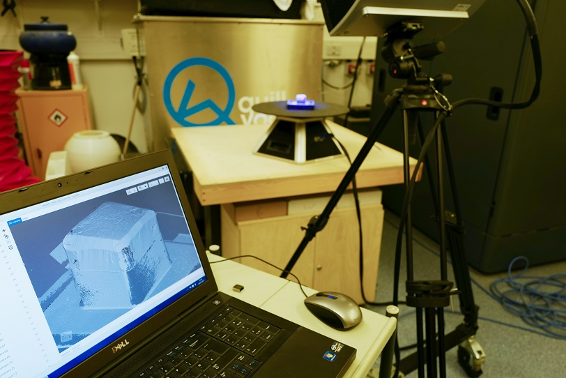 Our Steinbichler Comet L3D Scanner is an amazing tool