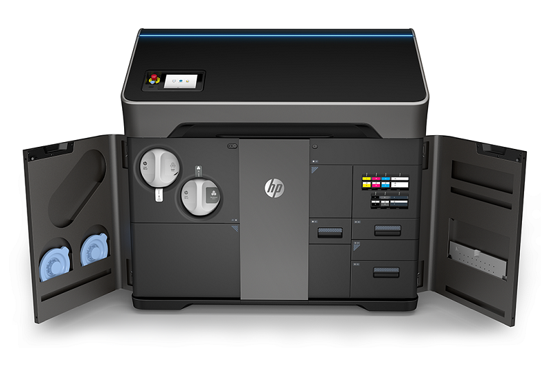 HP Unveiled its New Colour 3D Printers