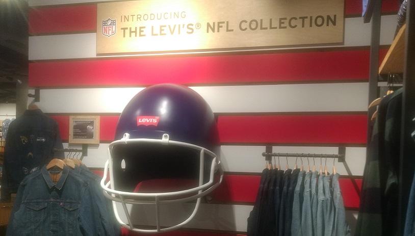 Levis American Football Helmet