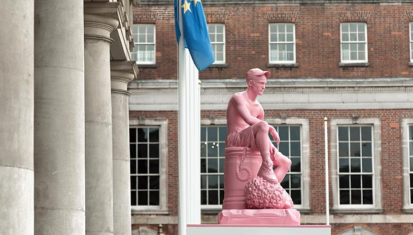 David & Goliath at Dublin Castle