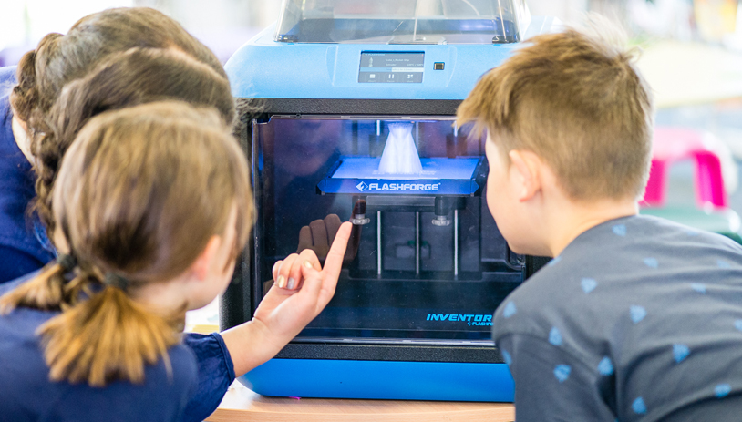 Nurturing Tomorrow's Talent: 3D Printing & Education