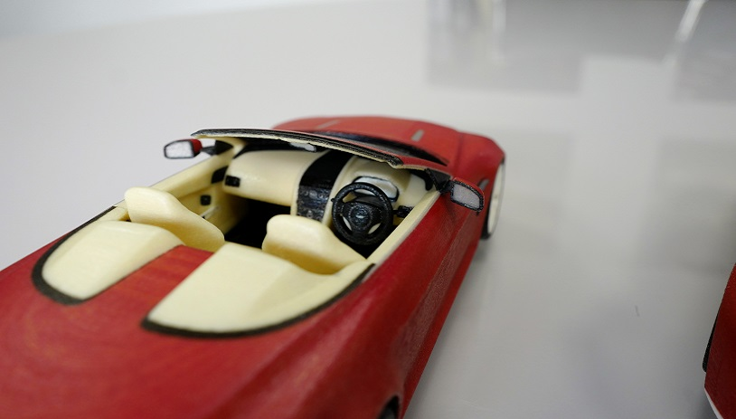 Full Colour Car Models