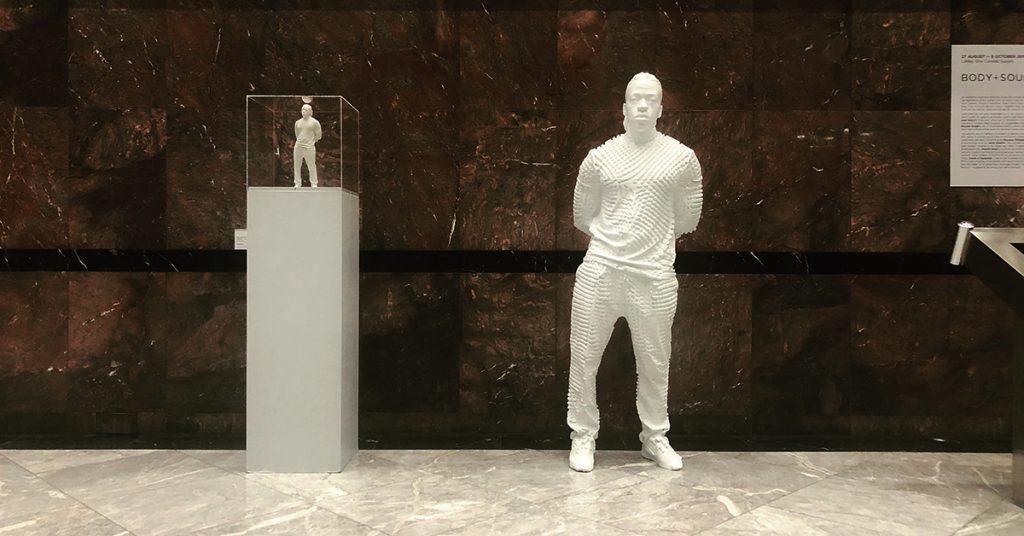 3D Printed Rayvenn D'Clark Life Sized