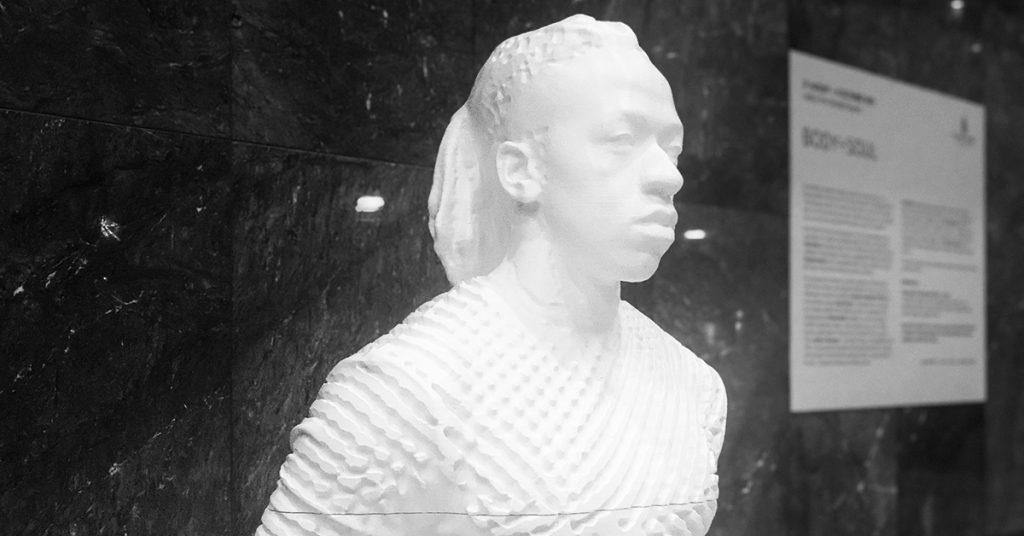 3D Printed Rayvenn D'Clark 2